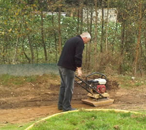 Compacting the Soil